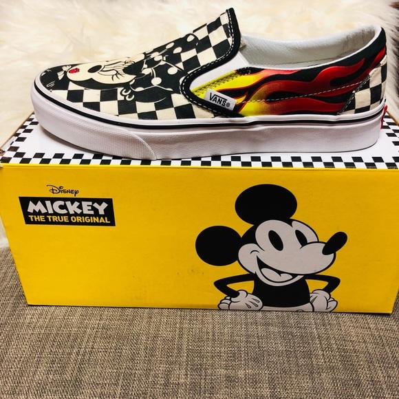 parcialidad Abundante Inválido  Vans Shoes | Vans X Mickey Mouse 9th Anniversary Collection | Poshmark